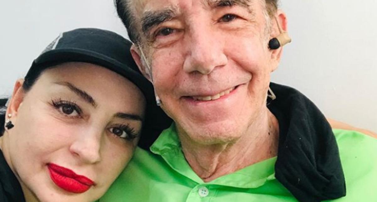 Mauricio Herrera y su esposa, Luhana, tienen Covid-19