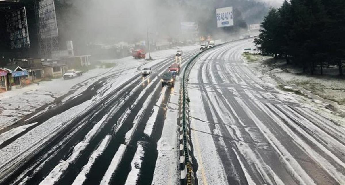 México Toluca granizada granizo tormenta lluvia 2
