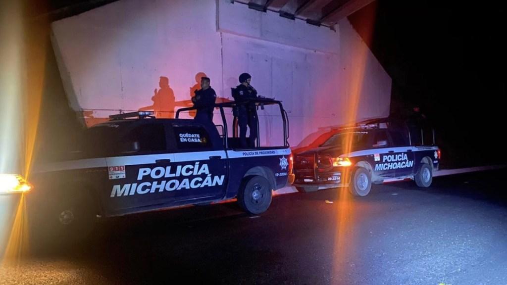 Enfrentamientos en Michoacán dejan al menos cinco muertos - Foto de SSP Michoacán