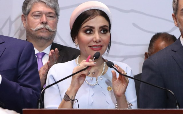 Diputada se disculpa por video donde lanza insultos en un programa de radio - Nayeli Salvatori diputada PES