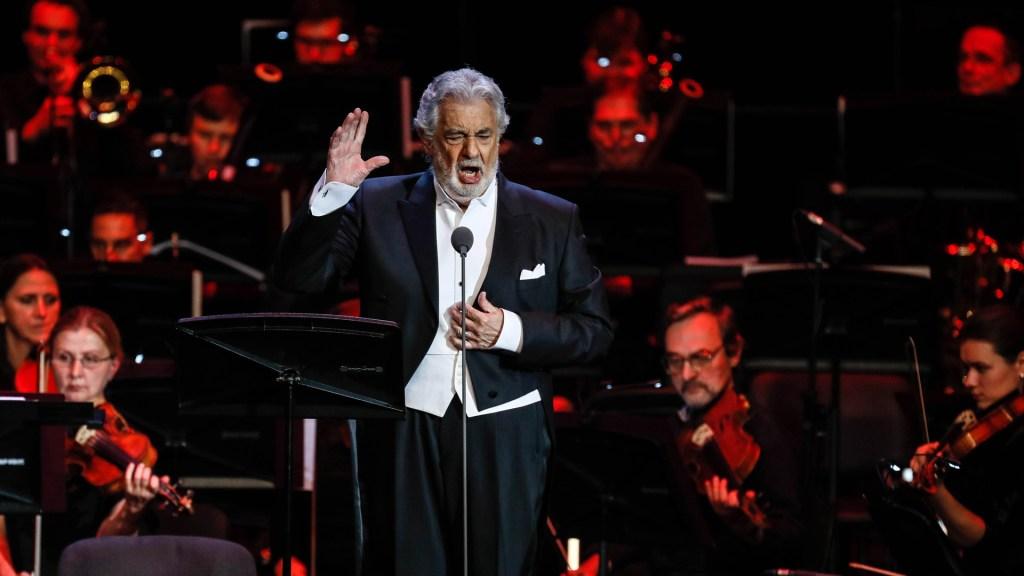Darán premio en Austria a Plácido Domingo por su 'excepcional' carrera - Tenor Plácido Domingo. Foto de EFE
