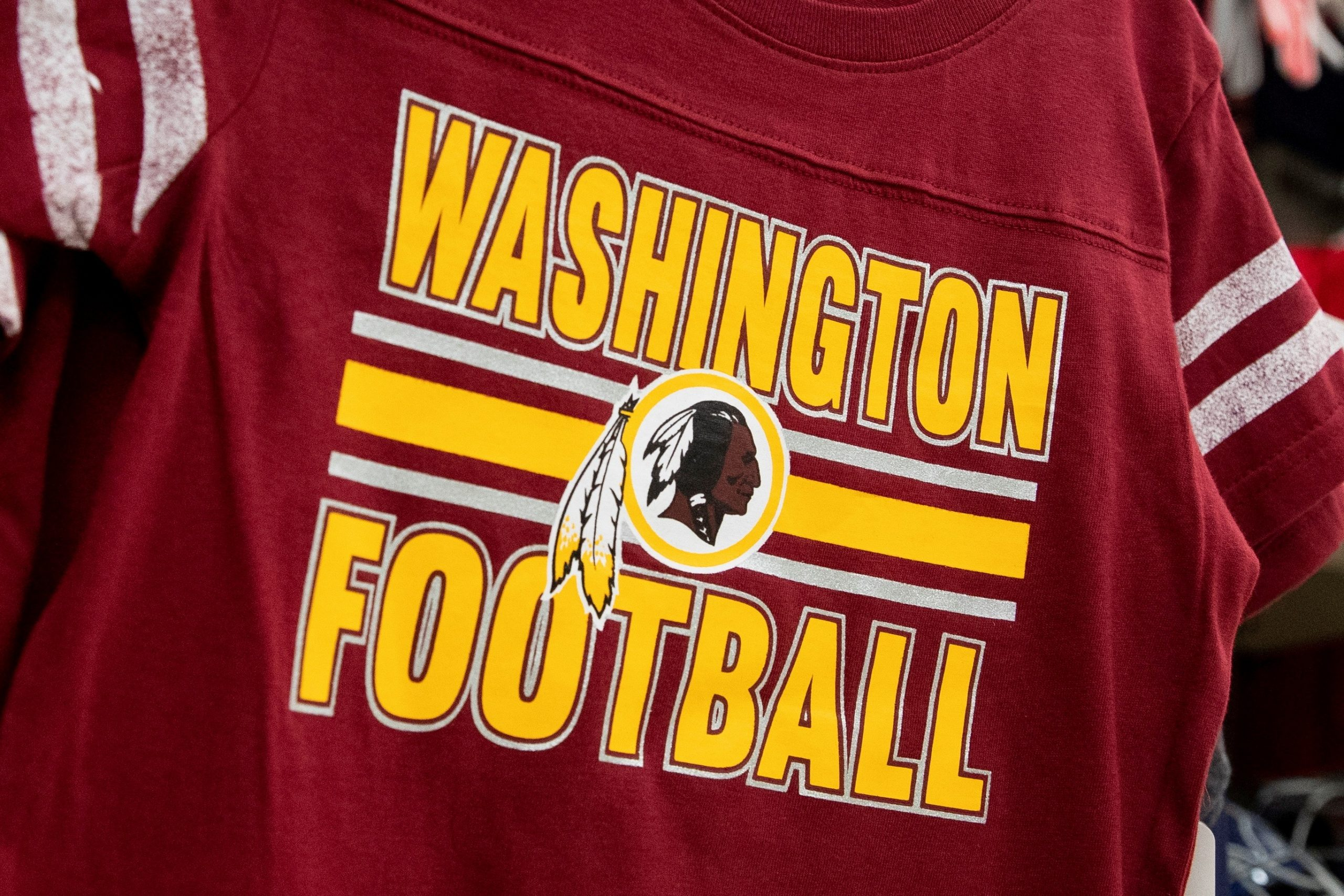 Playera de los Redskins