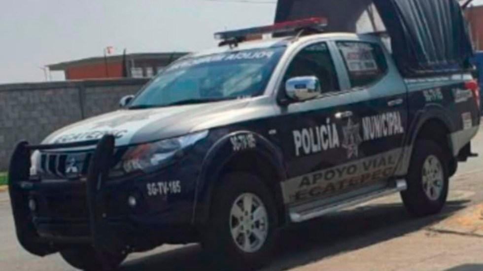 Ligan a policías de Ecatepec con asesinato de hombre en Valle de Aragón - policía ecatepec