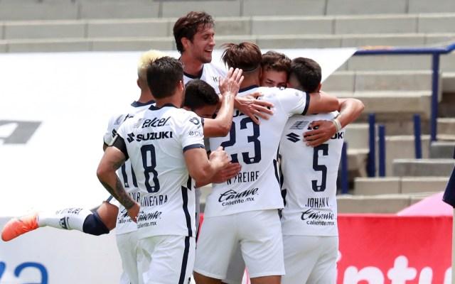 Pumas derrota a Querétaro con doblete de Dinenno - Pumas Querétaro partido Liga MX