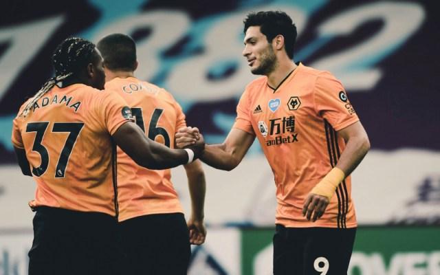 #Video Gol de Raúl Jiménez mantiene a Wolves con el sueño europeo - Foto de @Wolves