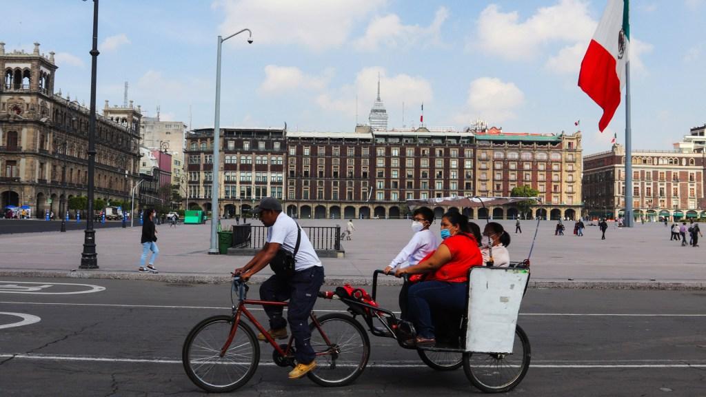 Continuará Ciudad de México en semáforo naranja con alerta la próxima semana - Foto de EFE