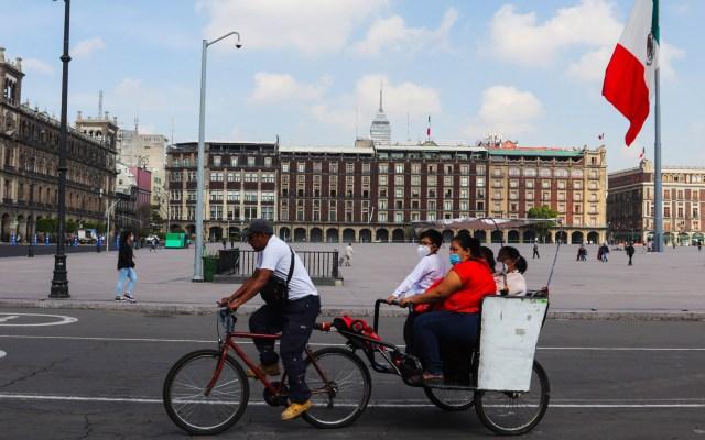 Cerrarán por tres días los comercios en primer cuadro del Centro Histórico de la CDMX por Grito - Foto de EFE