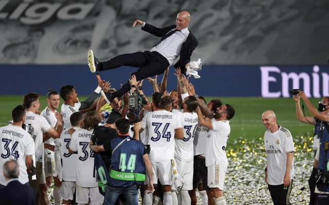 Real Madrid, campeón de LaLiga de España - Real Madrid campeonato LaLiga Villareal