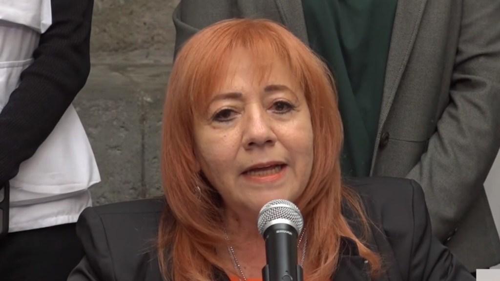 Rosario Piedra, titular de la CNDH, denuncia amenazas de muerte - Rosario Piedra, presidenta de la CNDH. Captura de pantalla / @CNDHmx