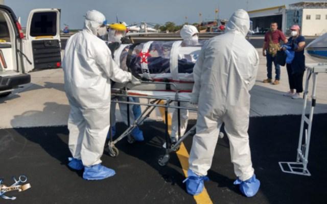 La disciplina rige hospital de la Marina de México que combate el COVID-19 - Foto de Semar