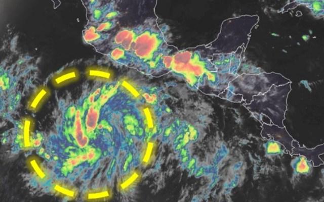 Se forma la tormenta tropical Cristina al sur de Guerrero - Tormenta Tropical Cristina México