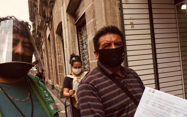 Las cinco colonias con mayor y menor uso de cubrebocas en la Ciudad de México - Foto de Twitter Autoridad del Centro Histórico