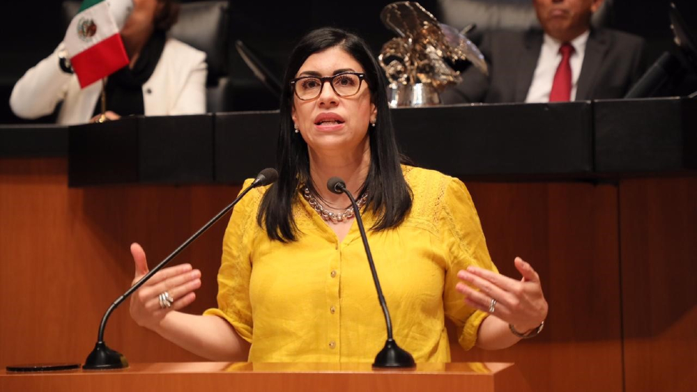 Pedí licencia para dedicarme a la Academia; es mentira y calumnia, vínculos con Lozoya: Vanessa Rubio - Foto de PRI Senado
