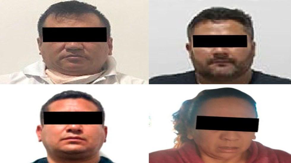 Vinculan a proceso a cuatro personas por tres secuestros en Jalisco - Vinculados a proceso por secuestro. Foto de @FGRMexico