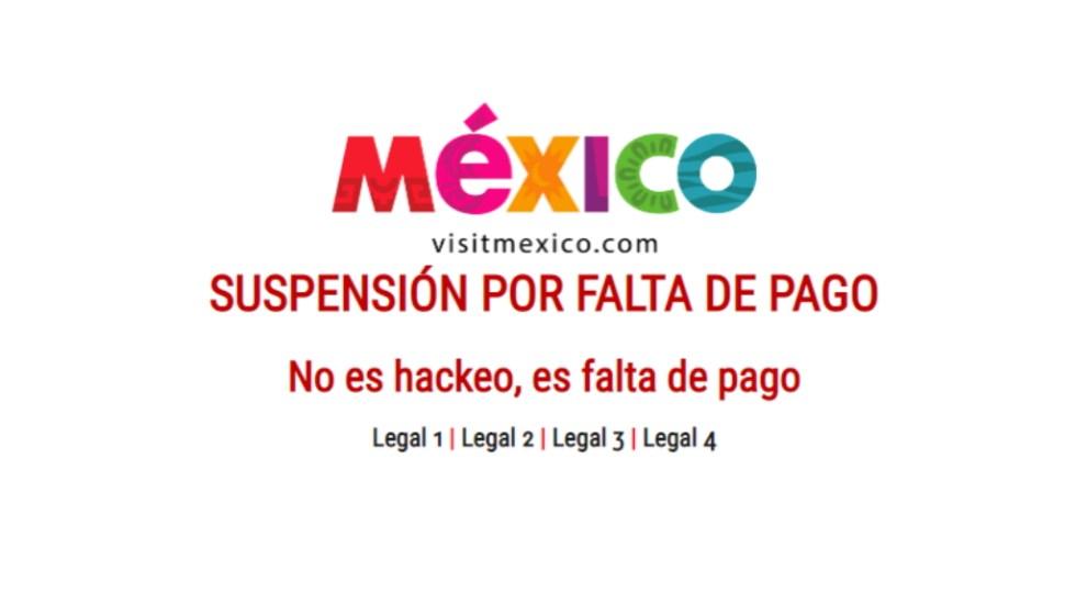 Detienen a empresario que hackeó página de Visit Mexico - Visit México falta de pago