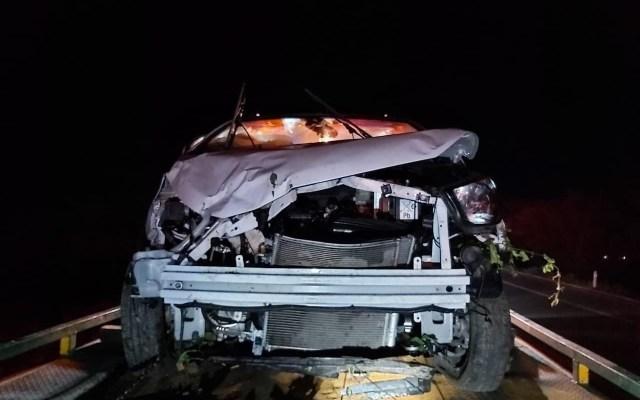 Zoé Robledo sufre fractura tras accidente en Chiapas; muere conductor de otro auto involucrado