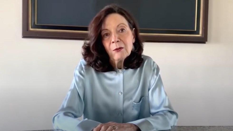 Murió la promotora cultural y fundadora de Conarte de Nuevo León, Alejandra Rangel Hinojosa - Captura de pantalla