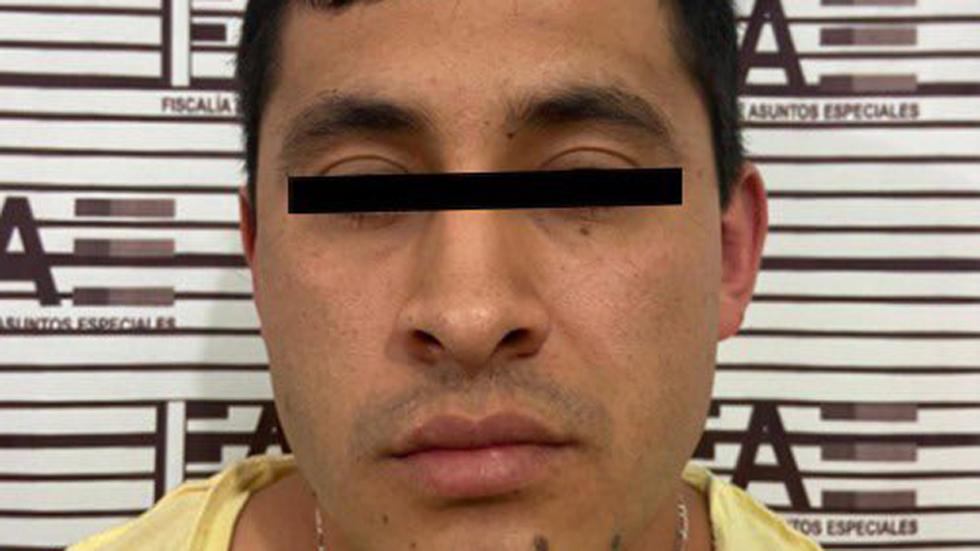 Detienen en Edomex a segundo sospechoso en asesinato de Luis Miranda Cardoso - Alejandro N, sospechoso de asesinato de Luis Miranda Cardoso. Foto de FGJEM