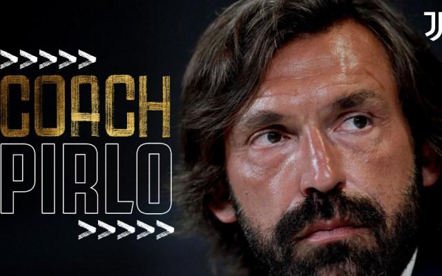 Andrea Pirlo es nuevo entrenador de la Juventus - Foto de @juventusfc