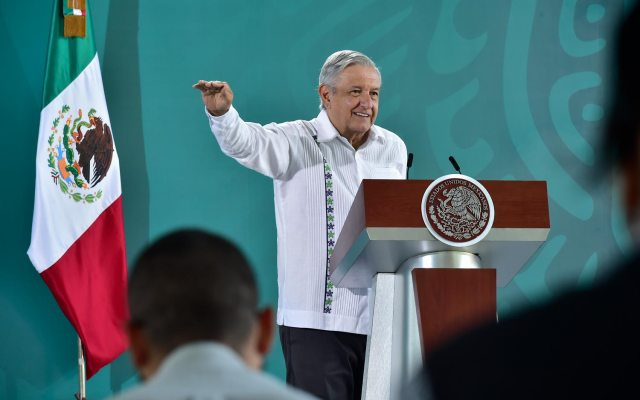 """""""Yo ya lo perdoné"""", dice AMLO sobre Felipe Calderón; conferencia (14-08-2020)"""