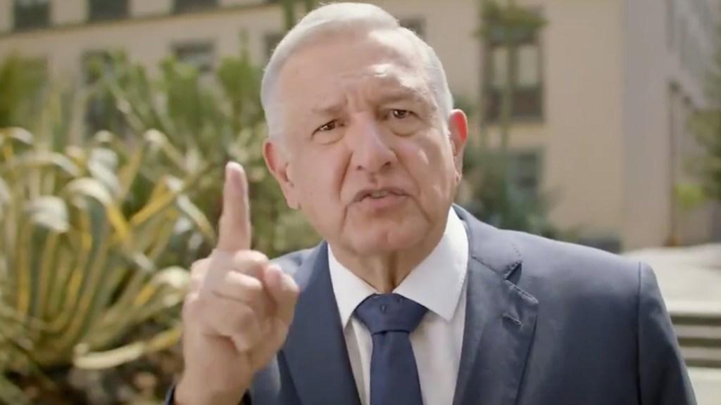 #Video Nunca más 'García Lunas' en el gobierno: AMLO - El presidente Andrés Manuel López Obrador. Captura de Pantalla.