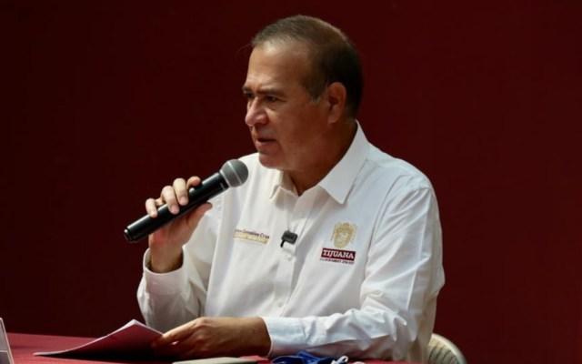 Alcalde de Tijuana denuncia amenazas por parte de subsecretario de Gobernación - Arturo González Cruz, alcalde de Tijuana. Foto de Facebook