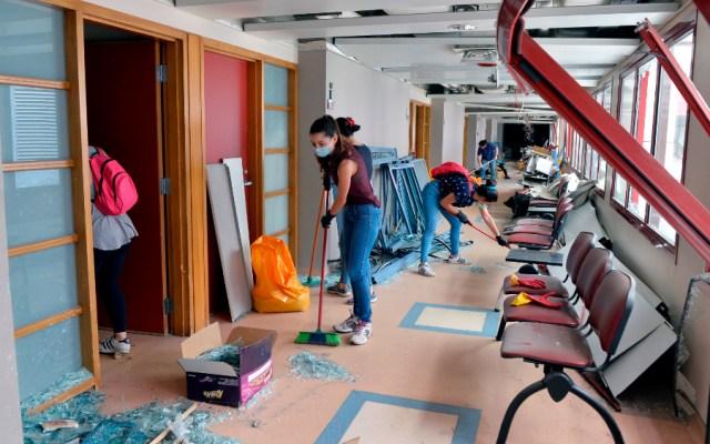 Más de la mitad de la estructura sanitaria de Beirut no está funcionando, dijo la OMS - Foto de EFE