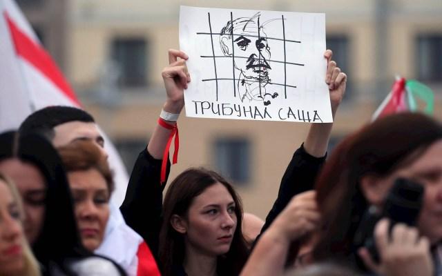 Bielorrusos regresan a las calles para exigir la renuncia de Lukashenko - Bielorrusia protestas protesta rusia