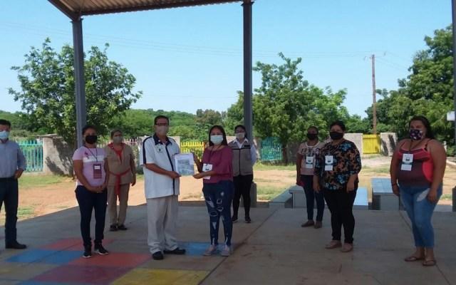 Fundación Delia Morán Vidanta dona 400 mil boletos para la rifa del avión presidencial a escuelas - Foto especial