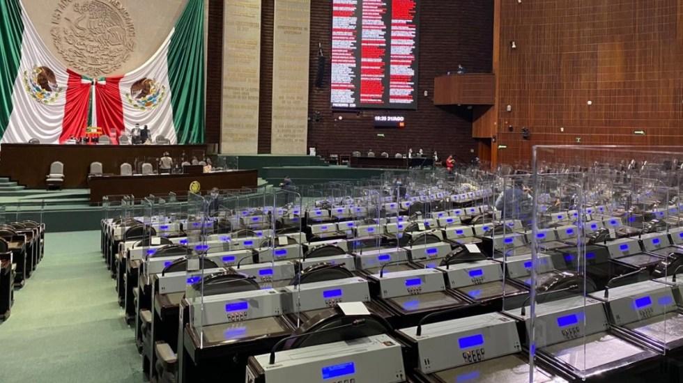 PRI suma cuatro diputados a su bancada; se mantiene como la tercera fuerza política en San Lázaro - Cámara de Diputados 31082020