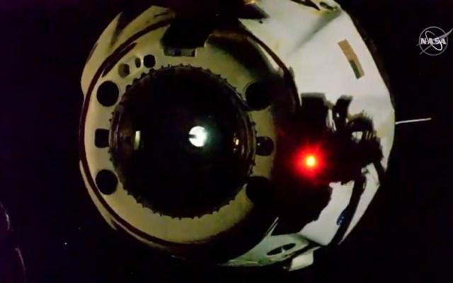 Misión Demo-2 de SpaceX regresará a la Tierra este domingo - cápsula Dragon Endeavour de SpaceX que regresará a la Tierra con dos astronautas de la NASA. Foto de EFE