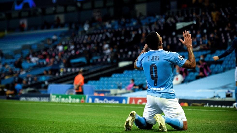 Errores de Varane socavan al Real Madrid y clasifican al Manchester City a cuartos de la Champions - Champions Manchester City Real Madrid 2 G Jesus