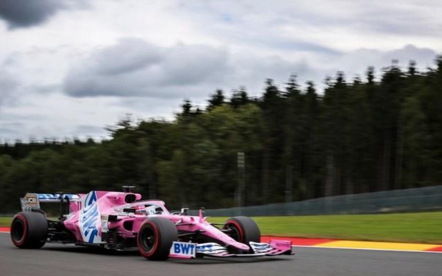 Hamilton obtiene la pole del Gran Premio de Bélgica; 'Checo' Pérez saldrá octavo - Foto de Twitter Checo Pérez