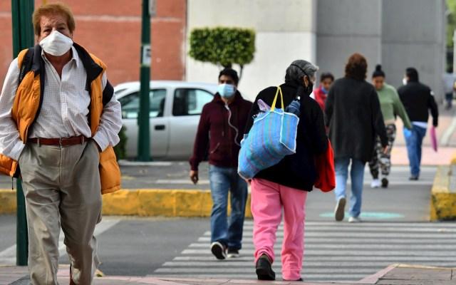 Ciudad de México permanecerá, una semana más, en Semáforo Naranja de Riesgo ante COVID-19 - Vista de la Ciudad de México en medio de la pandemia de COVID-19. Foto de EFE