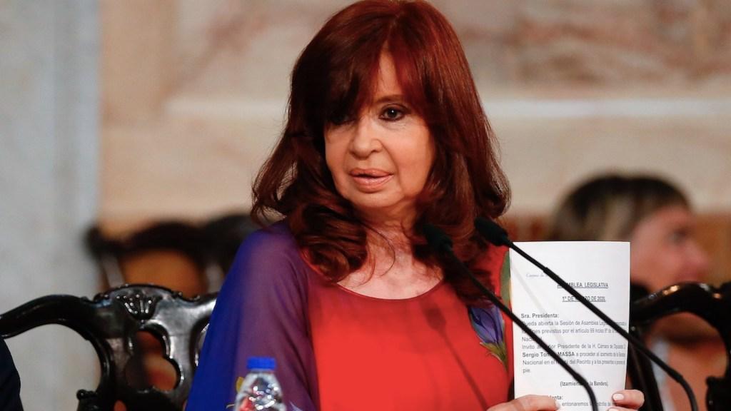 """Cristina Fernández de Kirchner demandará a Google por aparecer en el buscador como """"ladrona de la nación"""" - Foto de EFE"""
