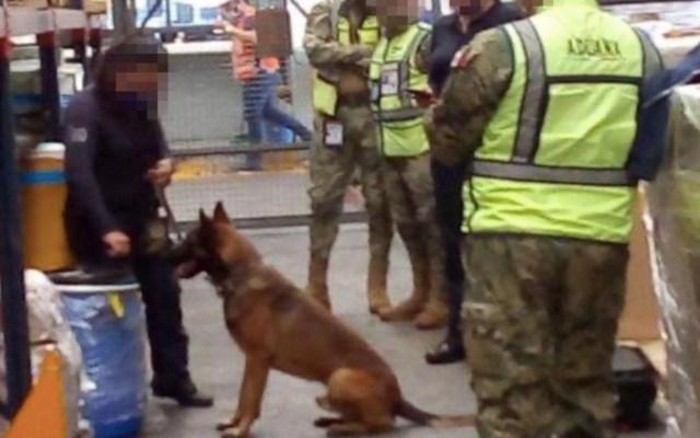 Decomisan 220 kilos de fentanilo en el Aeropuerto de la Ciudad de México - Foto de Administración Federal de Aduanas