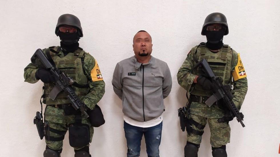 Detienen en Guanajuato a 'El Marro', líder del Cártel de Santa Rosa de Lima; va al penal del Altiplano - Detención en Guanajuato de José Antonio, alias 'El Marro'. Foto Especial