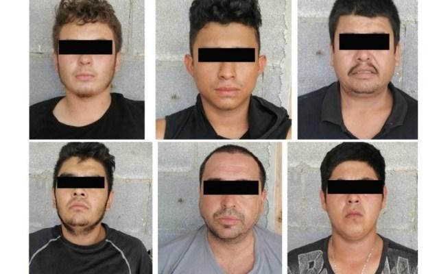 Caen seis presuntos miembros del Cártel del Golfo en Tamaulipas - Detenidos Cártel del Golfo Tamaulipas