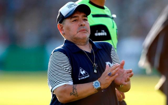 Conmebol llama a Maradona y otras leyendas a una colecta para los afectados del COVID-19 - Foto de EFE