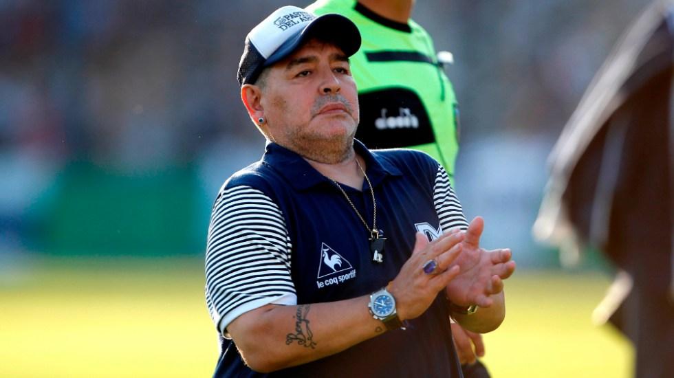 Revelan audios del doctor de Maradona, minutos antes de la muerte del '10' - Foto de EFE