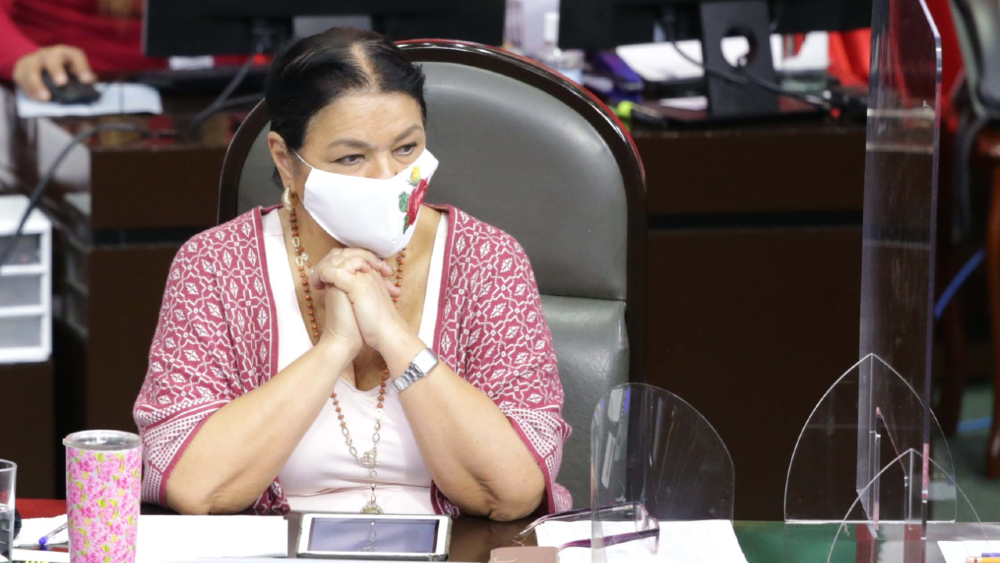 Dulce María Sauri pide al PT madurez política en disputa por Mesa Directiva en San Lázaro - Foto de Dulce Maria Sauri