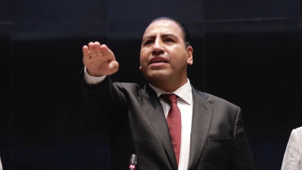 Eduardo Ramírez, presidente de la Mesa Directiva del Senado - Foto de Twitter Eduardo Ramírez