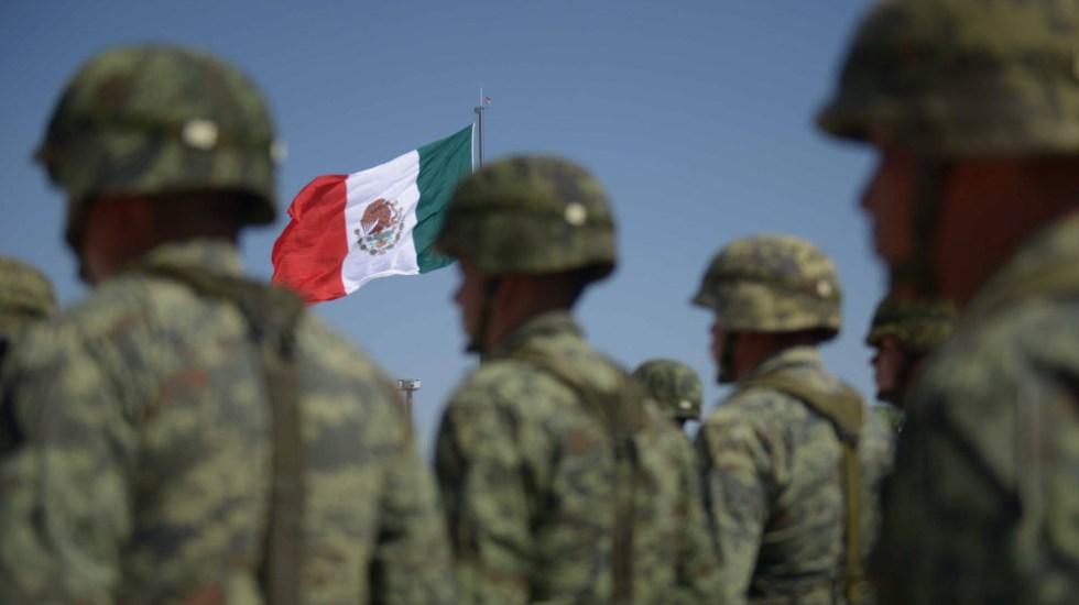 """""""Son las instituciones más aprobadas por el pueblo de México"""": AMLO defiende a Ejército y Marina - Foto de Presidencia de la República"""