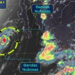 'Elida' provocará lluvias aisladas en Baja California Sur, se aleja de costas mexicanas