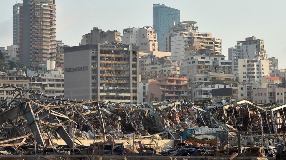 #Videos La explosión en Beirut desde diversos ángulos - Foto de EFE