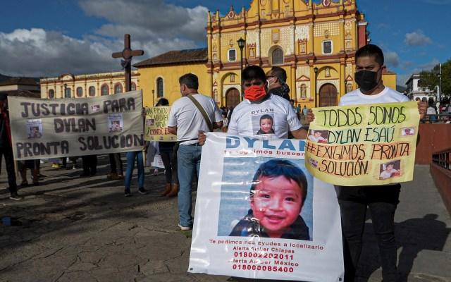 Familiares exigen en Chiapas justicia en caso Dylan - Familiares Marcha Chiapas caso Dylan búsqueda desaparecido 2