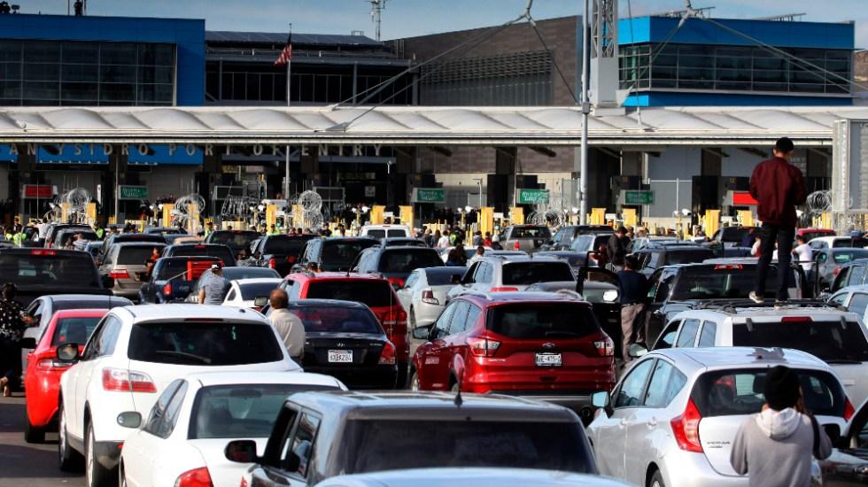 Necesitamos ya normalizar situación en frontera con EE.UU.: AMLO - Frontera San Ysidro Mexico EEUU Tijuana San Diego vacunación