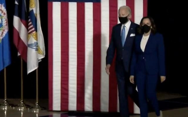 Joe Biden y Kamala Harris celebran su primer evento de campaña conjunto - Joe Biden y Kamala Harris Estados Unidos