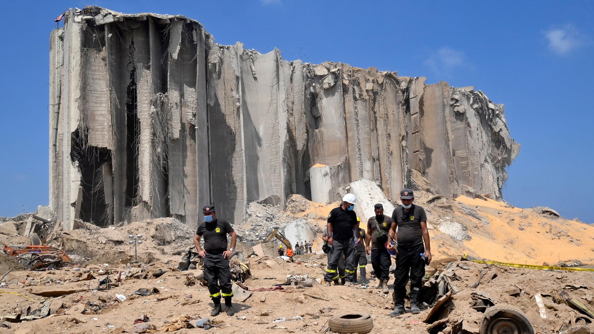 México apoyará al Líbano con 100 mil dólares tras explosión trágica