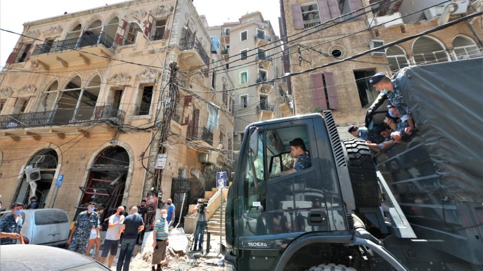 Gobierno libanés decreta estado de emergencia durante 15 días en Beirut - Foto de EFE